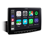 ALPINE HALO9 INE-F904D CARPLAY, ANDROID MED INDB NAVIGATION