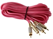 Phonokabel 5 METER PINK