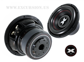 "EXCURSION REFERENCE 10"" DOBBELT 4 OHM"