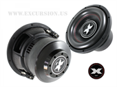 "EXCURSION TRANSFORMER 10"" DOBBELT 4 OHM"