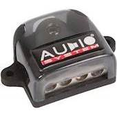 AUDIO SYSTEM HIGH-END 4-Time Distributor Block