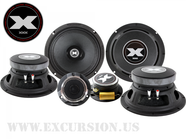 "EXCURSION 8"" PRO AUDIO XXX DUAL COMPOSÆT"