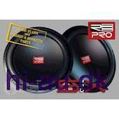 "RE AUDIO SX PRO 15"" 2x4 OHM"