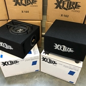 "X-FIRE 6,5"" VENTED SUB BOX 4 OHM"